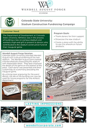 Building Donor Gift